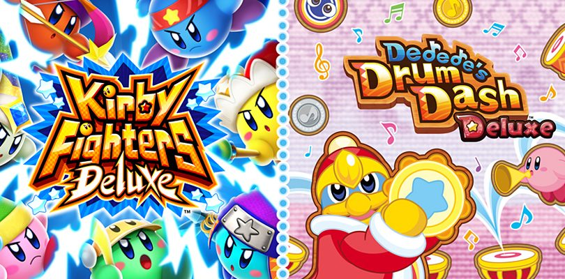 Trailer di lancio per Kirby Fighters Deluxe e Dedede's Drum Dash Deluxe