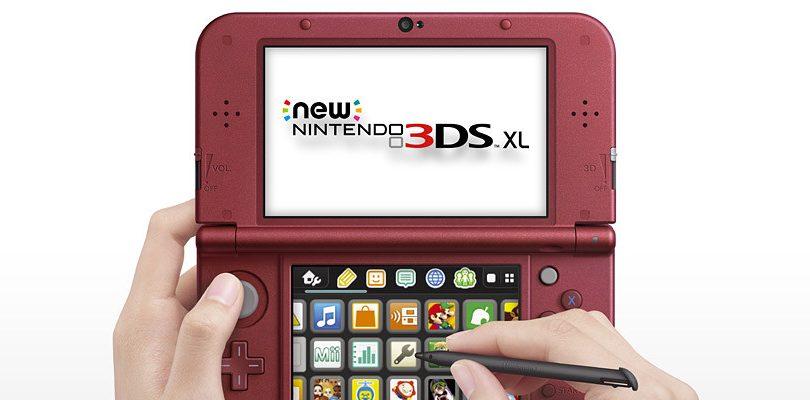 New Nintendo 3DS XL: in rosso solo per il Nord America