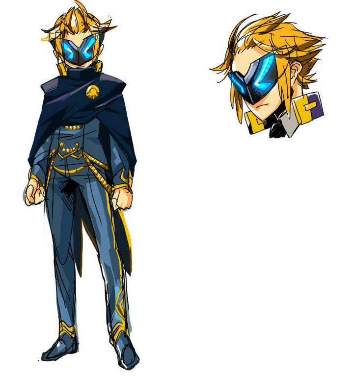 azure-striker-gunvolt-2-masked-man