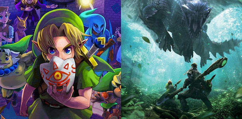 Zelda contro Monster Hunter: sfida fra le community!
