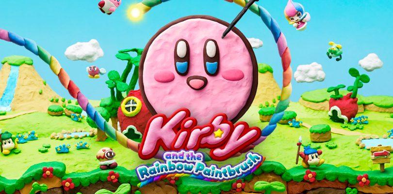 Kirby e il pennello arcobaleno: il trailer di lancio