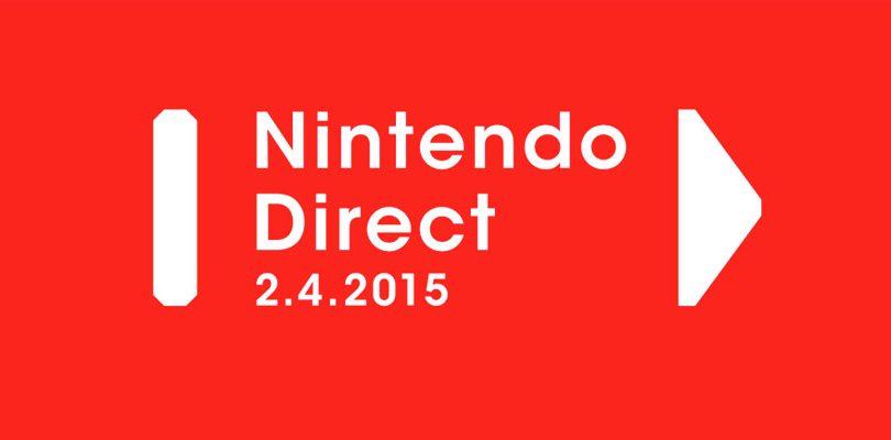 Nintendo Direct annunciato per il 2 aprile 2015