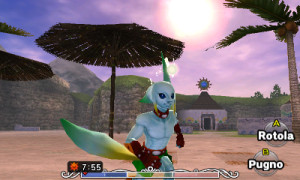 Baywatch. Zelda Edition.
