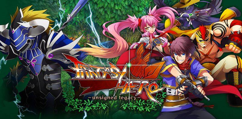 Fantasy Hero: Unsigned Legacy è disponibile su Nintendo Switch