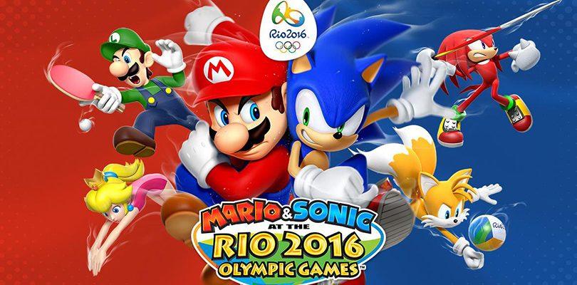Mario & Sonic ai Giochi Olimpici di Rio 2016 annunciato per Wii U e Nintendo 3DS