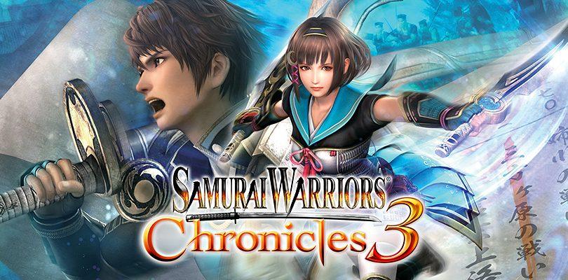 SAMURAI WARRIORS Chronicles 3: nuove immagini e video di gameplay