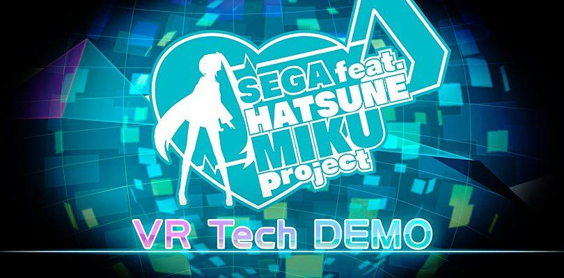 Hatsune Miku Project: VR Tech Demo disponibile nel corso dell'E3