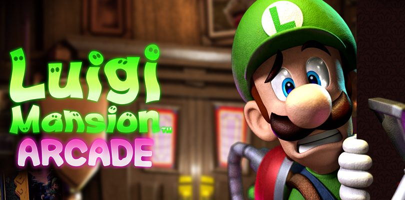 Luigi's Mansion Arcade arriva in occidente