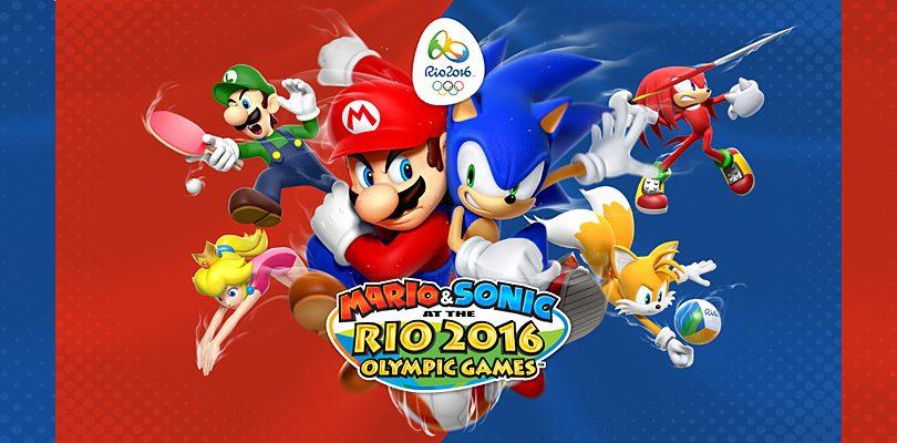 """Mario & Sonic ai Giochi Olimpici di Rio 2016: online il secondo video """"Training for Rio"""""""
