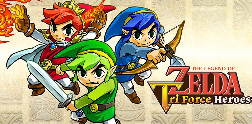 The Legend of Zelda: Tri Force Heroes, nuovo trailer dal Giappone