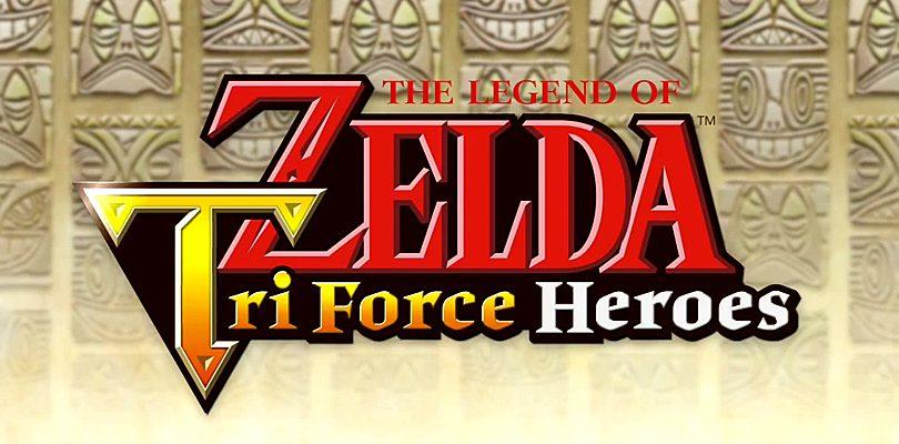 The Legend of Zelda: Tri Force Heroes annunciato per Nintendo 3DS