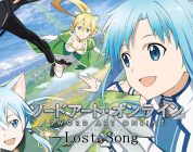 Sword Art Online: Lost Song, in Europa dal 12 novembre