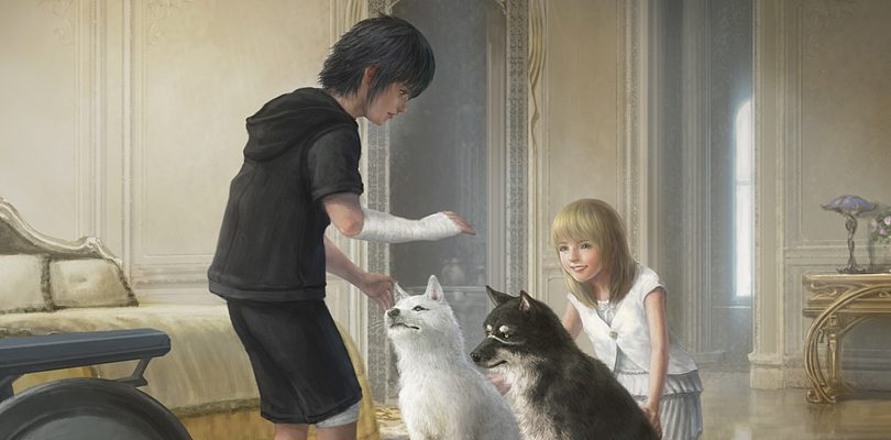 FINAL FANTASY XV: Noctis e Luna protagonisti in un nuovo artwork