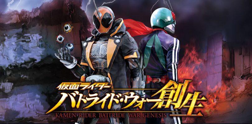 Kamen Rider: Battride War Genesis, i Rider DLC si mostrano in azione nel nuovo trailer