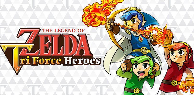 The Legend of Zelda: Tri Force Heroes, disponibile l'aggiornamento 2.1.0