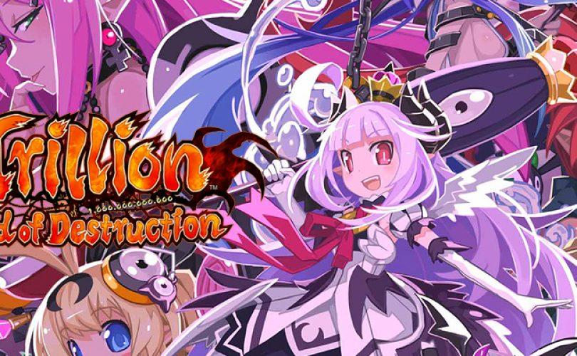 Trillion: God of Destruction, rivelata la data di uscita europea