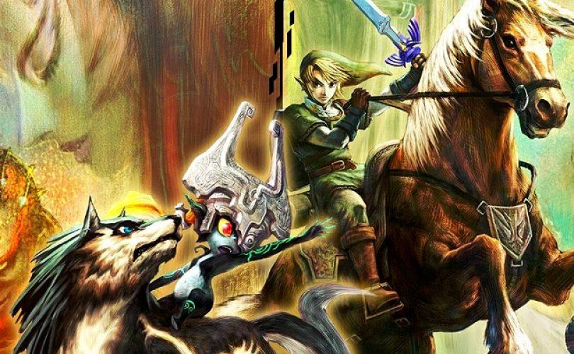 Zelda: Twilight Princess HD, nuove immagini per l'amiibo di Link Lupo e Midna