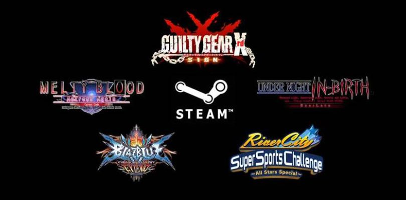 BlazBlue, Melty Blood, Under Night In-Birth Exe:Late e Guilty Gear in arrivo su Steam