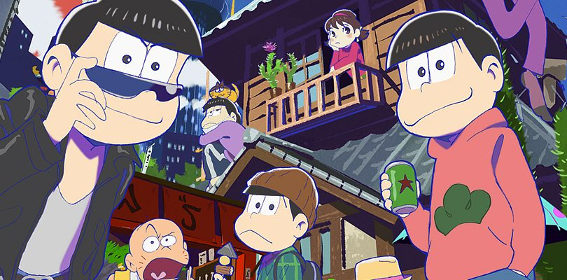 Osomatsu-san: bundle con una PlayStation Vita in edizione limitata