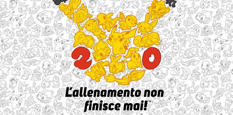 20 anni di Pokémon: tutte le iniziative in programma