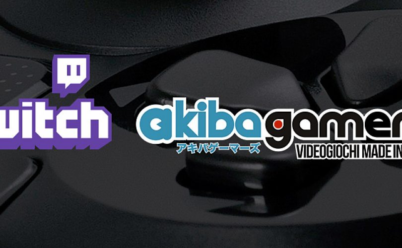 Livestream su Twitch per i 3 anni di Akiba Gamers