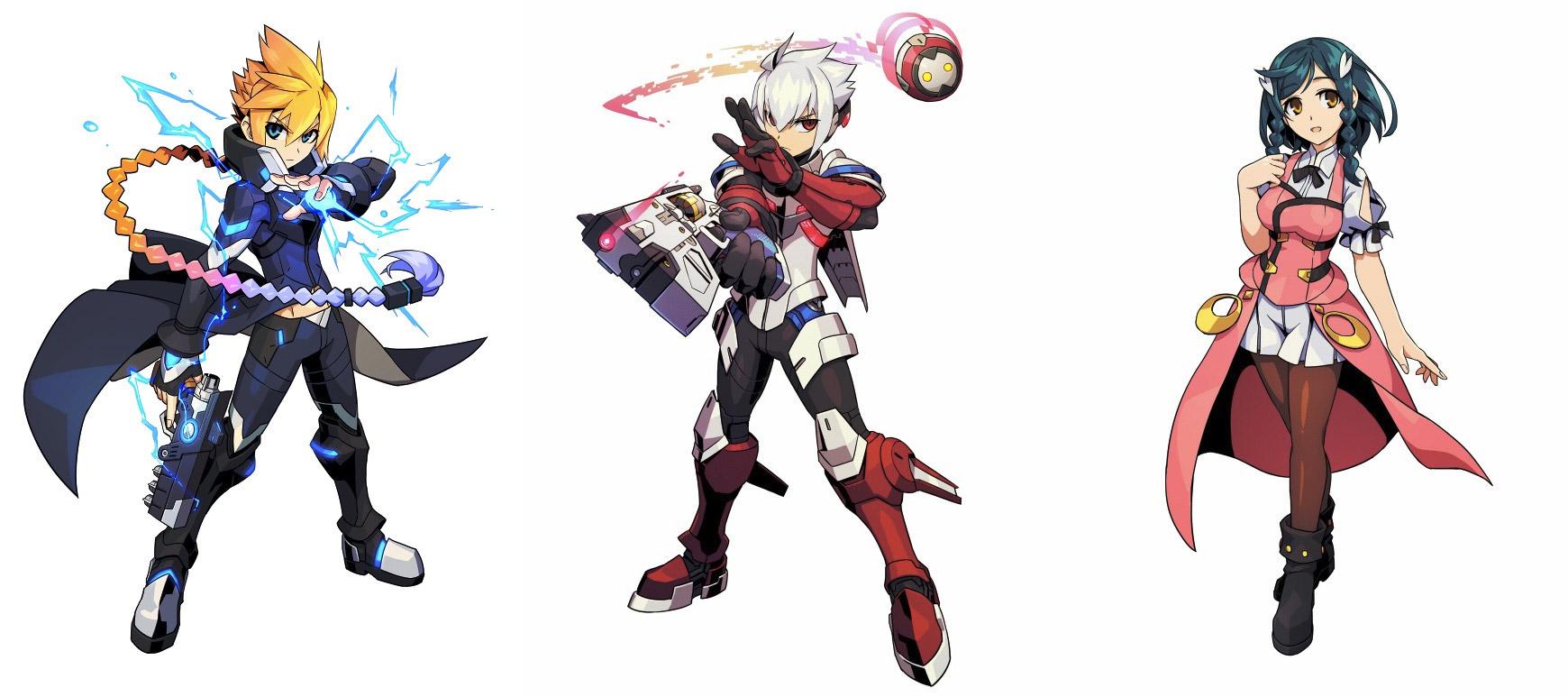 azure-striker-gunvolt-2-personaggi