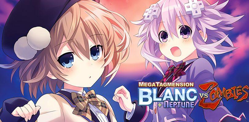 MegaTagmension Blanc + Neptune VS Zombies – Plutia, Peashy, Uzume e Tamsoft in azione