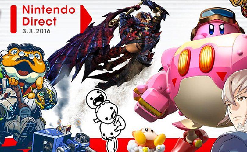 Tutte le novità dal Nintendo Direct del 3 marzo 2016