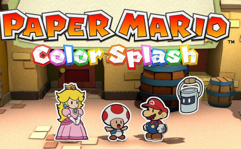 Paper Mario Color Splash annunciato per Wii U