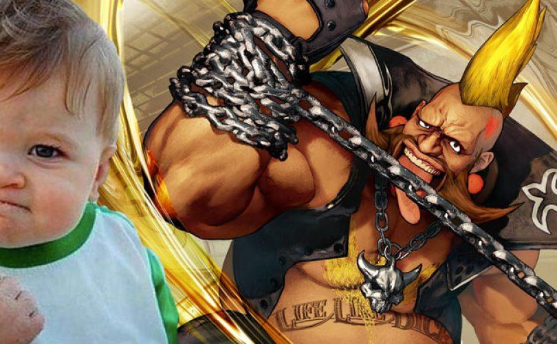 Lo story mode di Street Fighter V? Un gioco da ragazzi. Anzi, da neonati