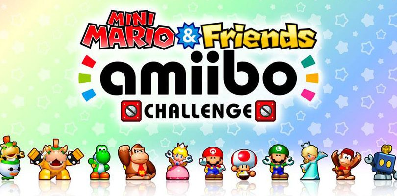 Mini Mario & Friends amiibo Challenge è disponibile gratuitamente su eShop