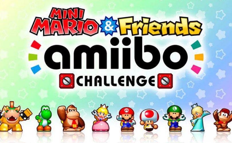 Mini Mario & Friends amiibo Challenge è disponibile gratuitamente su eShop