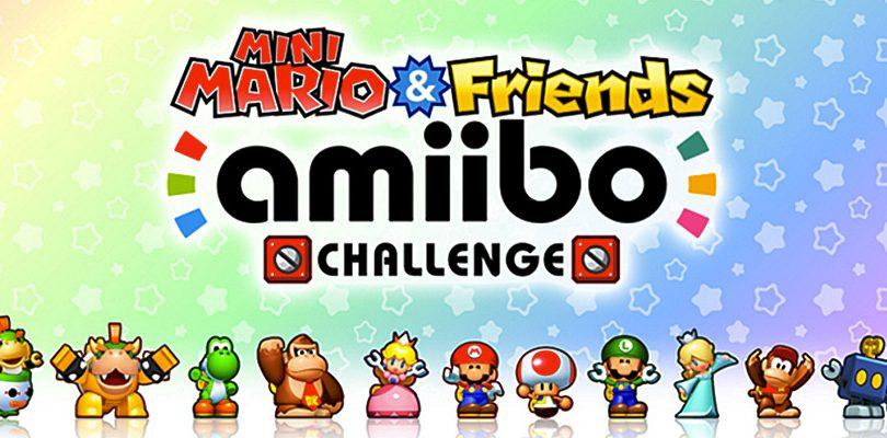 Mini Mario & Friends amiibo Challenge arriva in Europa questa settimana