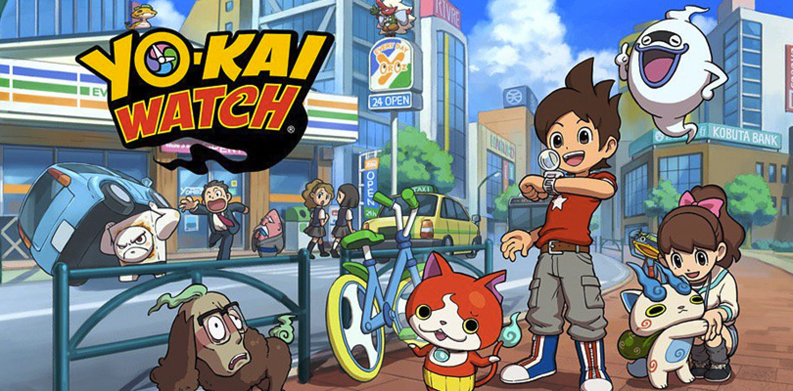 Yo kai watch: la serie animata è in onda da oggi su cartoon network
