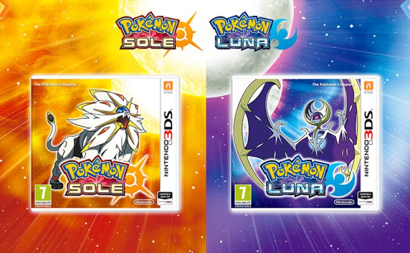 Pokémon Sole e Luna / Solgaleo e Lunala