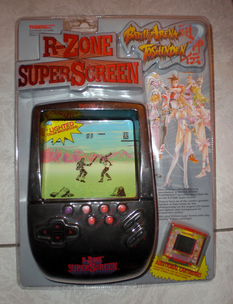 Console portatili - R-Zone Super Screen (foto di videogameauctions.com)