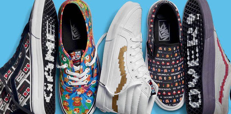 Vans x Nintendo: arrivano le scarpe di Mario, Zelda e Donkey Kong