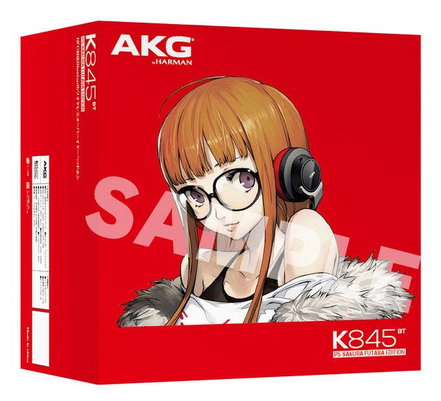 Persona-5-Sakura-Futaba-akg-headphones