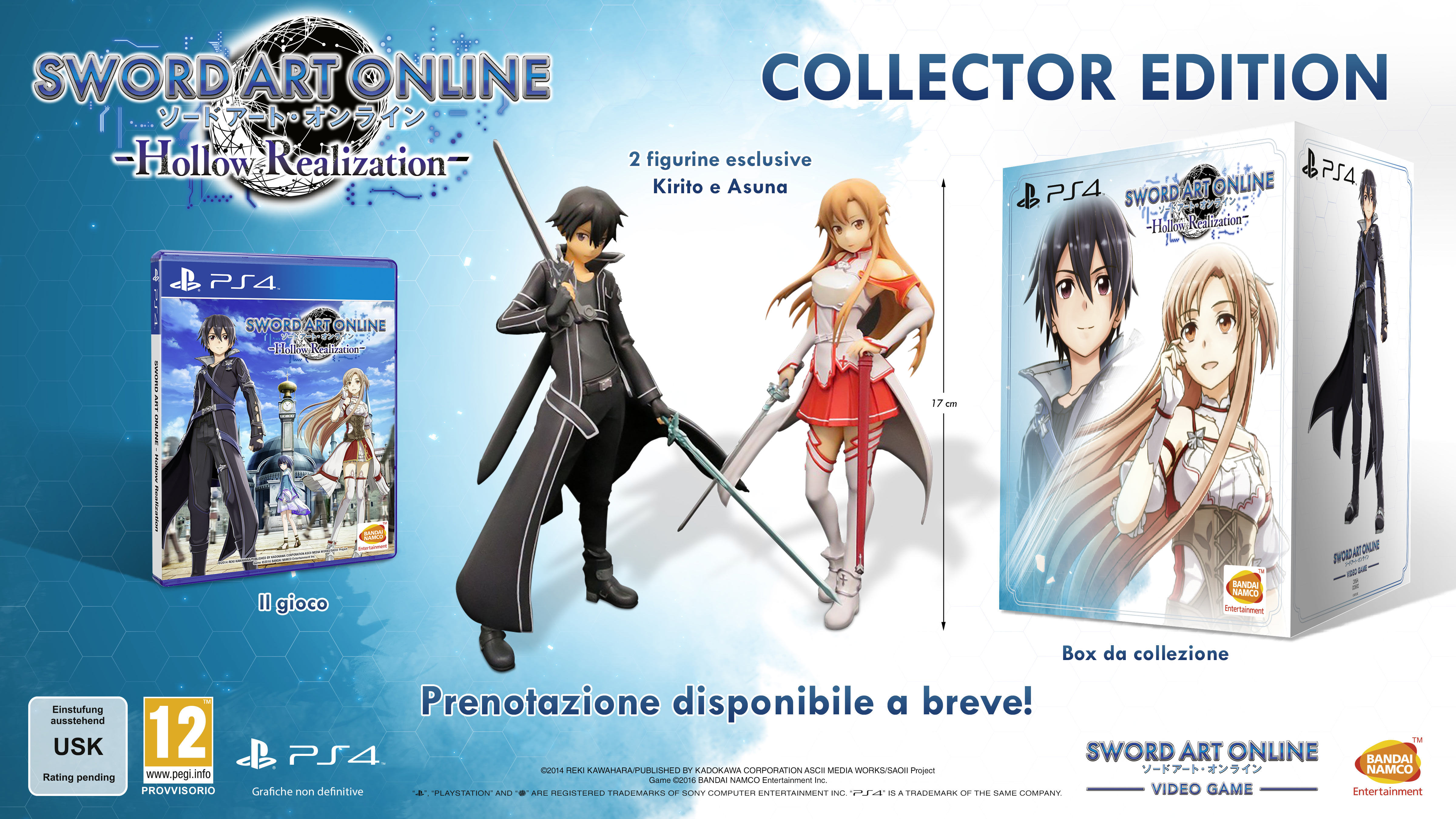 Sword Art Online: Hollow Realization - Collector's Edition europea