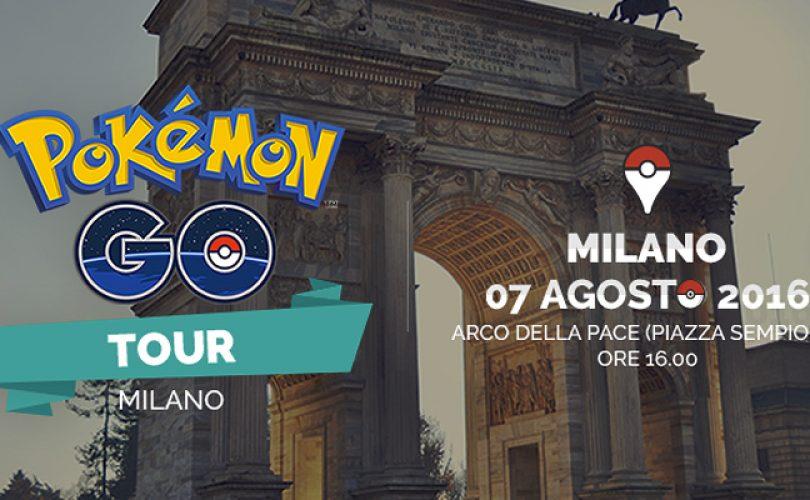 Pokémon GO Tour Milano