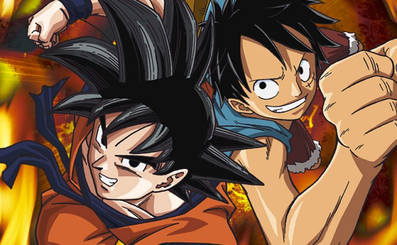 ONE PIECE: Great Pirate Colosseum e Dragon Ball Z: Extreme Butoden - cross battle