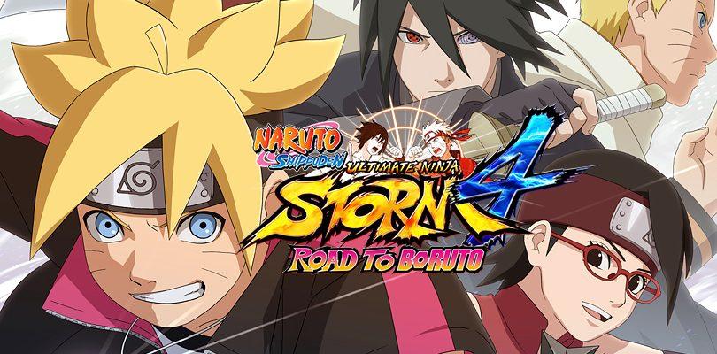 NARUTO SHIPPUDEN Ultimate Ninja STORM 4 ROAD TO BORUTO / NARUTO Sun STORM 4