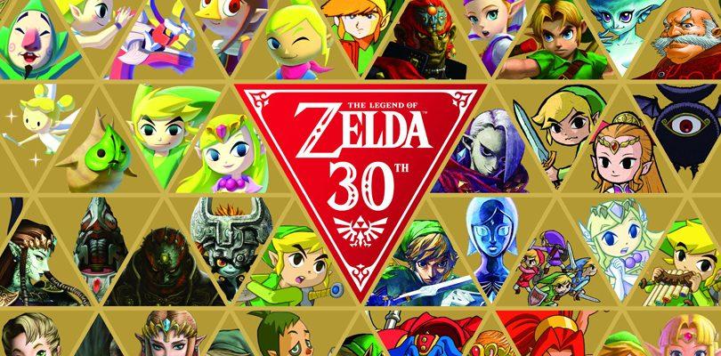 Zelda festeggia trent'anni con i nuovi amiibo