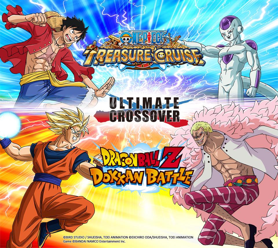 One Piece Treasure Cruise e Dragon Ball Z Dokkan Battle avranno una campagna crossover!