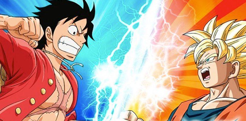 rossover tra One Piece Treasure Cruise e Dragon Ball Z Dokkan Battle