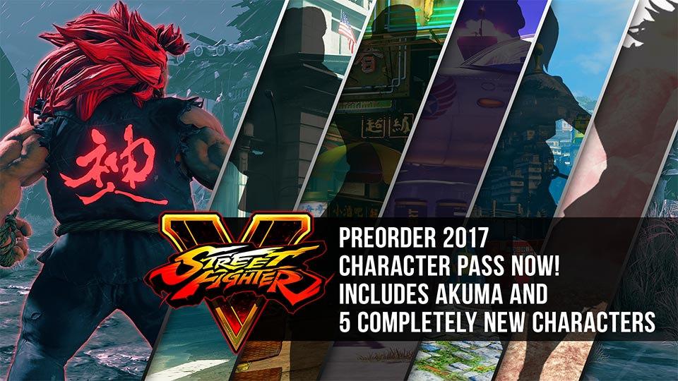 5 nuovi personaggi affiancheranno Akuma e gli altri guerrieri del roster