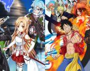 Sword Art Online: Memory Defrag & ONE PIECE THOUSAND STORM