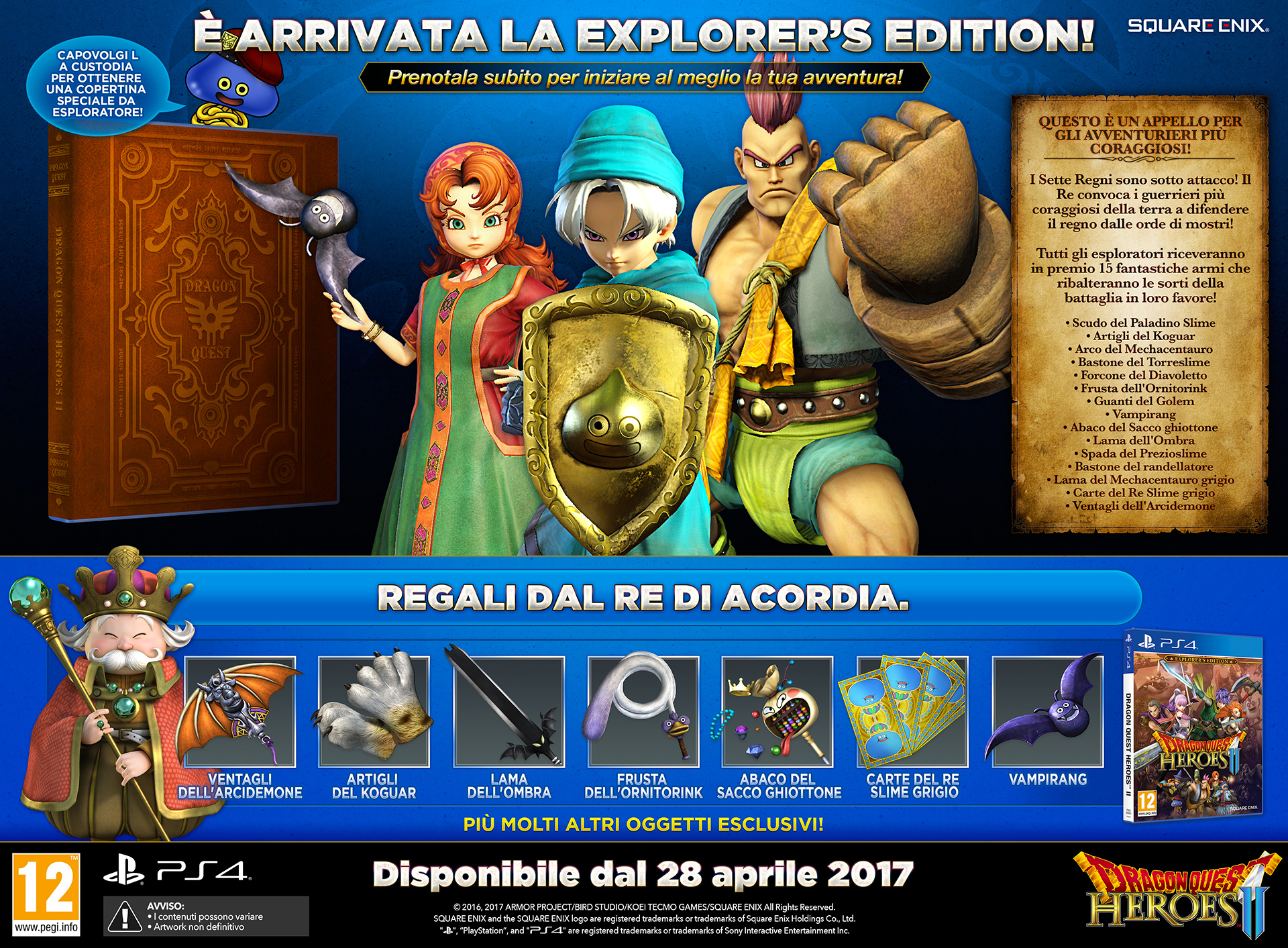 DRAGON QUEST HEROES II Explorers Edition