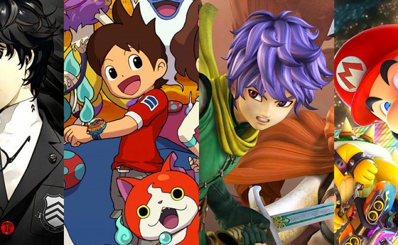 Videogiochi giapponesi in uscita: aprile 2017