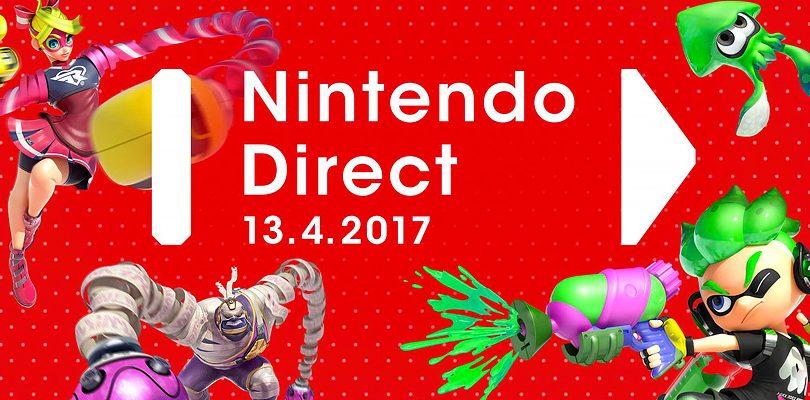 Novità dal Nintendo Direct del 13 aprile